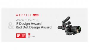 Zhiyun Weebill LAB получи престижната награда Red Dot Desing Award 2019