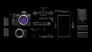 The Nikon Z 6 Essential Movie Kit begins filming with a mirrorless camera