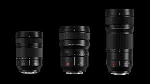 Panasonic представя три обектива за системата Lumix S