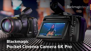 LIve Webinar: Запознайте се с Blackmagic Pocket Cinema Camera 6K Pro / 04.03 от 12:00 до 13:00 часа