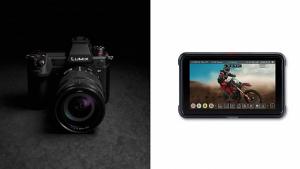 Panasonic разработват фърмуер за LUMIX S1H, осигуряващ извеждане на RAW видео данни към Atomos Ninja V