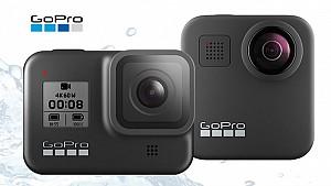 Новите видеокамери GoPro HERO8 и GoPro MAX 360