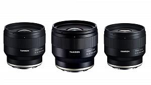 Three new Tamron hard lenses for Sony E-mount