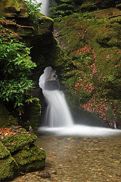 St. Nectan's Glen Waterfalls