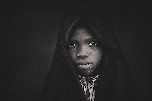 Arbore tribe girl