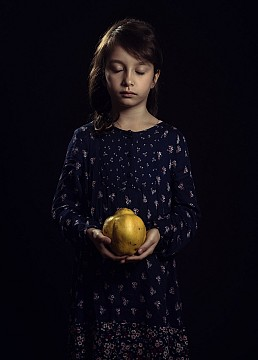 Girl with Quince