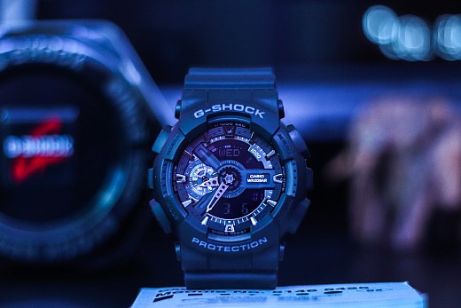 CASIO G-SHOCK Chronograph GA-110