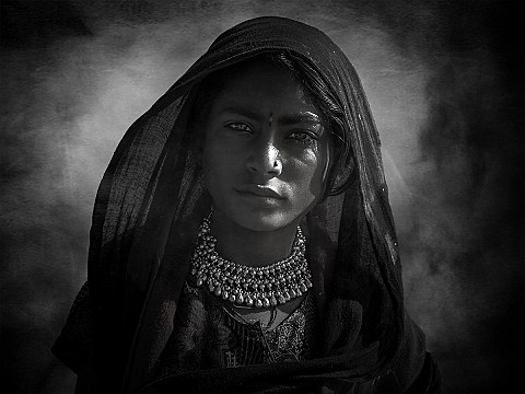 Indian tribal girl..