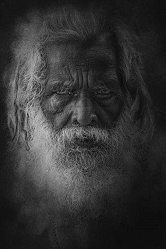 Old Rajasthani man from Varanasi
