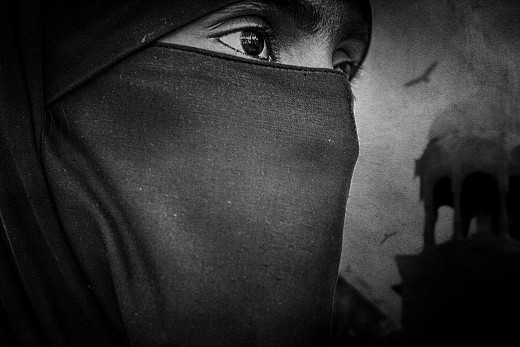 Muslim woman from Jaisalmer..!
